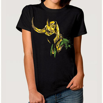 Loki Art T-shirt, Men's Women's All Sizes