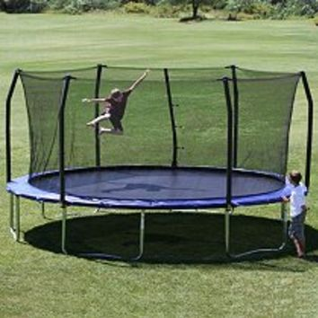 Sam's Club Mobile - Skywalker Trampolines 17 x 15 Oval Trampoline and Enclosure Combo