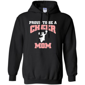Proud to Be a Cheer Mom Pullover Hoodie