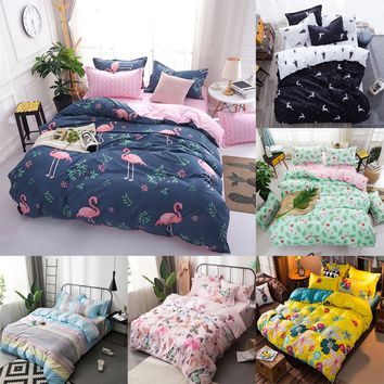 Home Living Comforter Duvet Cover Bed Flat Sheets and Pillow Covers Queen Size and King Size Bedding Set