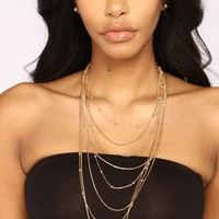 Delicate Layered Set - Gold
