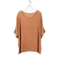 Aliexpress.com : Buy Free shipping 2013 Korean style new Ladies sweater long hollow Knit Blouse batwing knitting Pullover sweater XCD2081 809 30 from Reliable sweater models suppliers on eFoxcity Wholesale