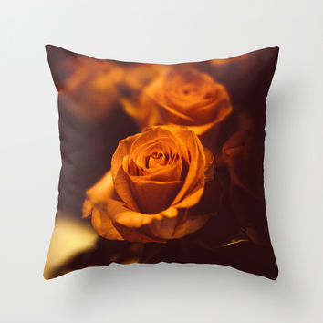 The gentleman Throw Pillow by HappyMelvin