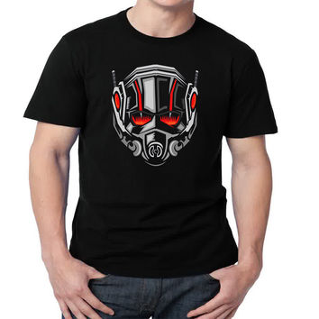Marvel's Ant-Man Mens T-shirt Black and White