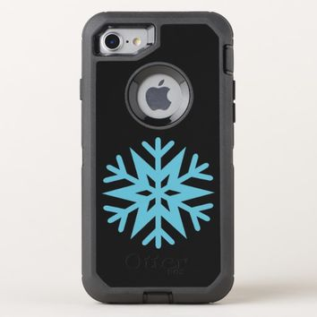 Snowflake OtterBox Defender iPhone 8/7 Case