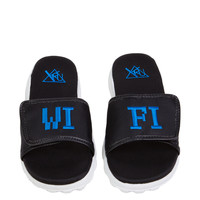 Y.R.U. Nile Wifi Sandals in Black Blue