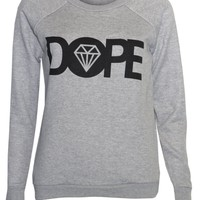Womens Dope Sweater Jumper Top