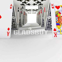 Super poker 10ft x 10ft Backdrop Computer Printed Photography Background HY-C-2590