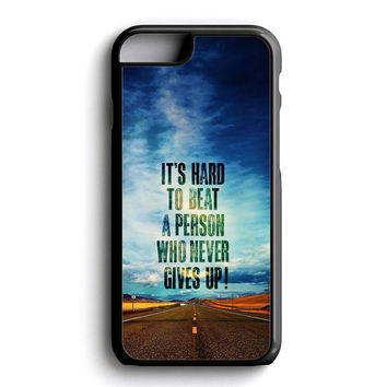 Hard To Beat A Person iPhone 6 Case