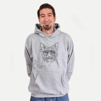 Calum the Cairn Terrier - Mens Hooded Sweatshirt