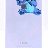 Stitch 6/6s (4.7) iPhone Silicone Case ROXX Fairy Tale Soft Rubber TPU Silicone Cases Featuring Disney Snow White Eating Apple Elsa Frozen Olaf Ariel Holding Apple