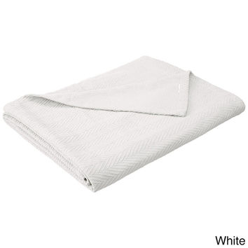Luxor Treasures All-Season Luxurious 100-percent Cotton Metro Blanket | Overstock.com Shopping - The Best Deals on Blankets