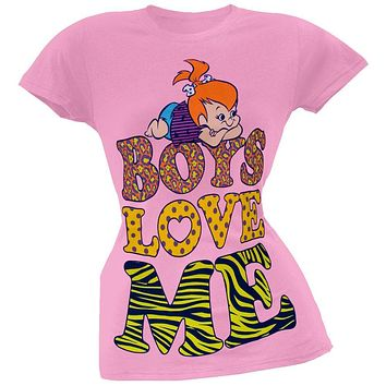 Flintstones - Pebbles Juniors T-Shirt