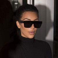 Adewu Brand Deisgn New 2017 Sunglasses Women Fashion Style Kim Kardashian Sunglasses For Women Square Uv400 Sun Glasses