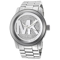 Michael Kors Runway MK Silver Dial Womens Watch - MK5544 [Apparel] Michael Kors