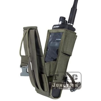 Emerson Tactical MOLLE Universal MBITR PRC 148 PRC 152 Radio Pouch EmersonGear Walkie Talkie Pocket with Quick-release Buckle