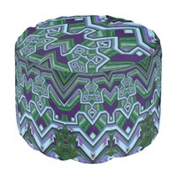 Art Deco Styled Pouf
