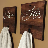 His & Hers Towel Hooks / New Gen