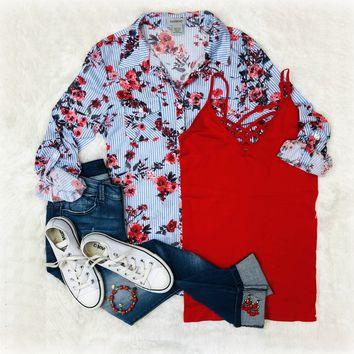 Blooming Blossoms Blouse