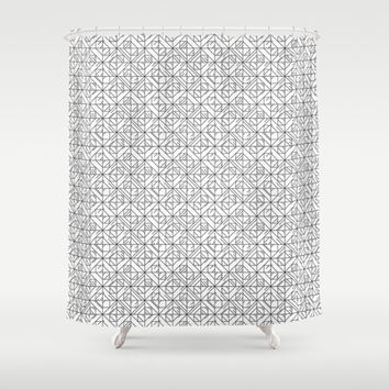 Shapeness Shower Curtain by Rui Faria