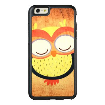 cute colored owl OtterBox iPhone 6/6s plus case
