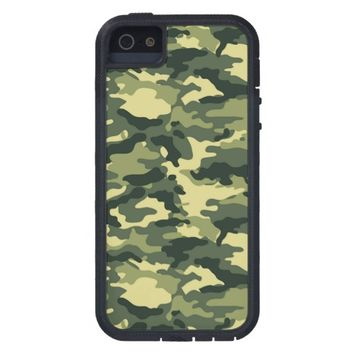 Green Camouflage Pattern iPhone SE/5/5s Case