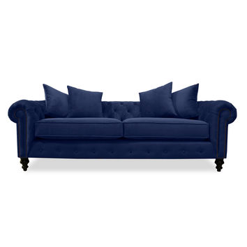 "South Cone Home Hanover Tufted Sofa 90"" & Reviews 