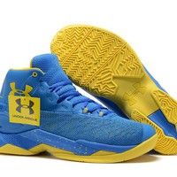 Under Armour Men's SC30 Stephen Curry 3.5 Royal Blue/Yellow Sport Sneaker