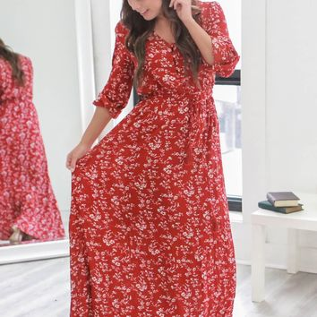 Harvest Of Memories Maxi Dress