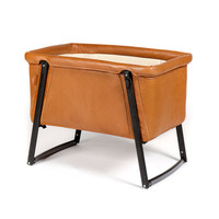 BabyHome Dream Premium Leather Bassinet: Bassinets & Moses Baskets | giggle