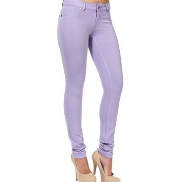 Lavender Stretch Jeggings