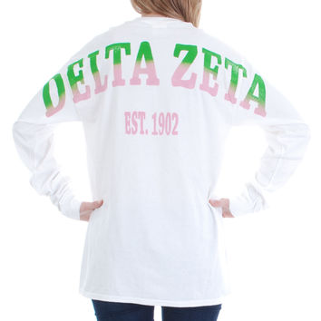 Delta Zeta Color Series Stadium Jersey