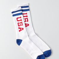 AEO USA Crew Socks, Multi