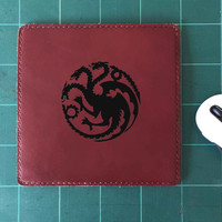 Khaleesi Mother Of Dragons Mouse Pad Leather Mousepad Mouse Mat