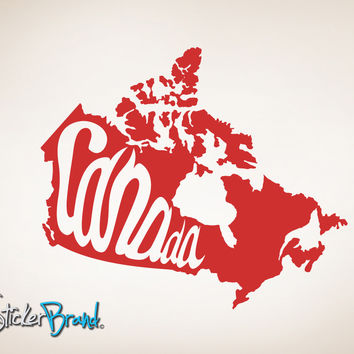 Vinyl Wall Decal Sticker Canada #OS_MB199