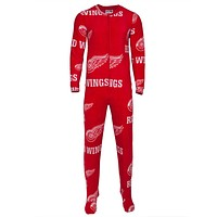Detroit Red Wings - Logo All-Over Union Suit