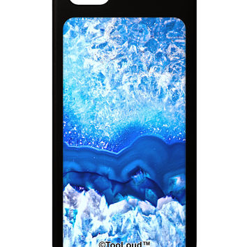 Blue Agate Geode Print iPhone 5 / 5S Grip Case All Over Print