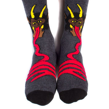 Krampus Socks