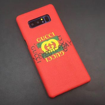 GUCCI Fashion Galaxy Cover Case For S8 S8Puls Note8