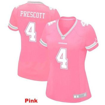 Women's Dallas Cowboys Dak Prescott Game Jersey
