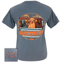 Southern Limits Truck Dogs Unisex Comfort Colors T-Shirt