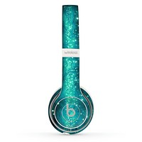 The Trendy Green Space Surface Skin Set for the Beats by Dre Solo 2 Wireless Headphones