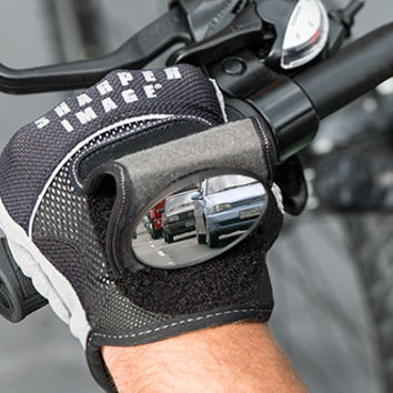 Rearview Mirror Cycling Gloves @ Sharper Image
