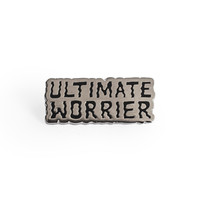 Worrier Enamel Pin