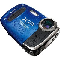 FUJI FINEPIX XP50 WATERPROOF DIGITAL CAMERA 5x OPTICAL ZOOM 14MP HD VIDEO BLUE