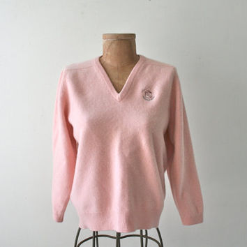 Preppy Pink Cashmere Sweater