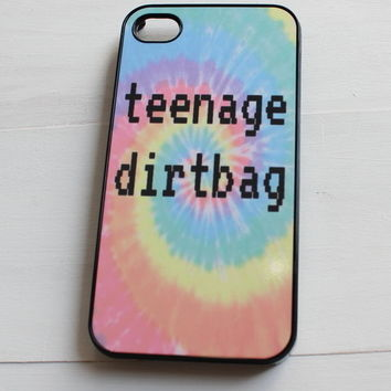 Tie Dye Teenage Dirtbag Phone Case
