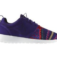 The Nike Roshe Run Midnight Craftwork Women's Shoe.