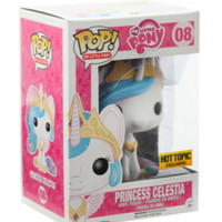 Funko My Little Pony Pop! Princess Celestia Vinyl Figure Hot Topic Exclusive