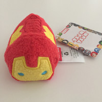 "disney usa authentic tsum 3 1/2"" marvel iron man no chinese replica new with tags"